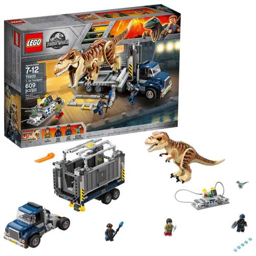 LEGO Jurassic World T. Rex Transport 75933 Building Kit