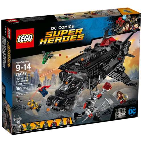 LEGO Super Heroes 76087 Flying Fox: Batmobile Airlift